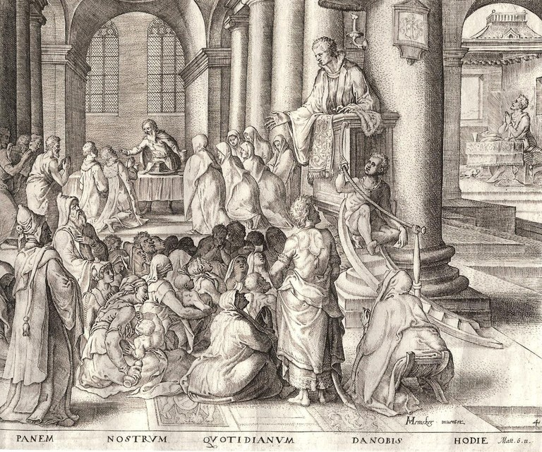 Stich Abendmahl calvinistisch