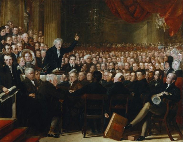 Künstler: Benjamin Robert Haydon, Öl auf Leinwand,  1841, Bildquelle: National Portrait Gallery, London, http://www.npg.org.uk/collections/search/portrait.php?search=ap&npgno=599