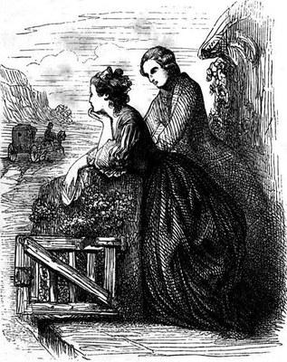 Jean-Jacques Rousseau (1712–1778), Julie, ou la Nouvelle Héloïse, Paris 1878, Illustration, unbekannter Künstler, Digitalisat: W. C. Minor; Bildquelle: http://commons.wikimedia.org/wiki/File:JulieNouvelleHeloise.jpg?uselang=fr.