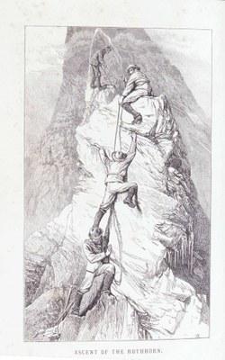 Edward Whympers Aufstieg zum Rothorn, um 1871 IMG