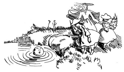 Wilhelm Busch (1832–1890), Abenteuer eines Junggesellen, Die stille Wiese: Bild 9, Zeichnung, 1875; Bildquelle: Busch, Wilhelm: Abenteuer eines Junggesellen, in: Ders.: Werke: Historisch-kritische Gesamtausgabe, Hamburg 1959, vol. 2, S. 41, online: http://www.zeno.org/nid/20004611861 [25.02.2011]. gemeinfrei