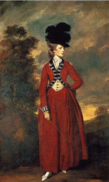 Sir Joshua Reynolds (1723-1792), Portrait Lady Worsley 1776, Öl auf Leinwand, 236 x 144 cm, Großbritannien 1776; Bildquelle: Earl and Countess of Harewood, Harewood House, Yorkshire, UK, © The Earl and Countess of Harewood and Trustees of the Harewood House Trust.