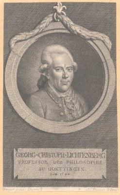 Georg Christoph Lichtenberg (1742–1799), Kupferstich von J. C. Krüger nach Johann Ludwig Strecker (1721–1799), o. J. [um 1780]; Bildquelle: Dibner Library of the History of Science and Technology, Smithsonian Institution Libraries, http://www.sil.si.edu/digitalcollections/hst/scientific-identity/CF/by_scientist_display_results.cfm.