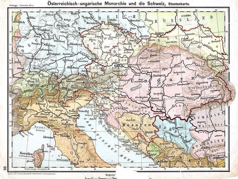 Österreich-Ungarn nach dem Ausgleich von 1867 IMG