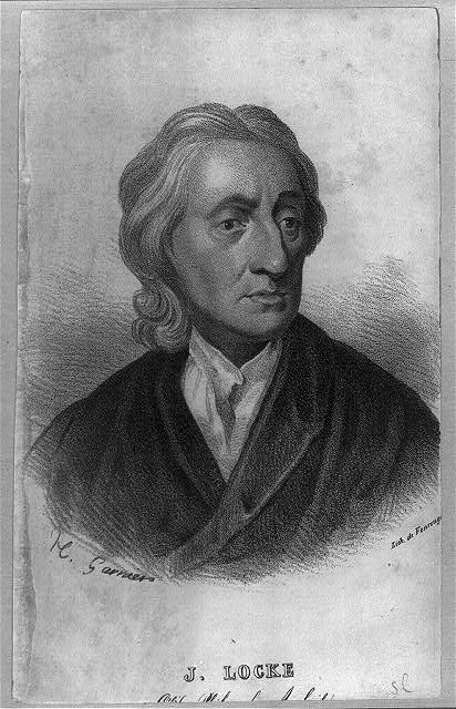 Portrait John Locke (1632–1704 ), Lithographie von de Fonroug[e] nach H. Garnier, ohne Datum; Bildquelle: Library of Congress, Prints and Photographs Division Washington, http://hdl.loc.gov/loc.pnp/cph.3b07397.