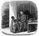Anthony Benezet (1713–1784) instructing colored children, engraving, 1850, unknown artist; source: Barber, John Warner / Barber, Elizabeth G.: Historical poetical and pictorial American scenes, New Haven 1850, wikimedia commons, http://commons.wikimedia.org/wiki/File:Benezet.jpg.
