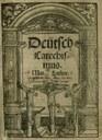 Martin Luther, Deütsch Catechismus