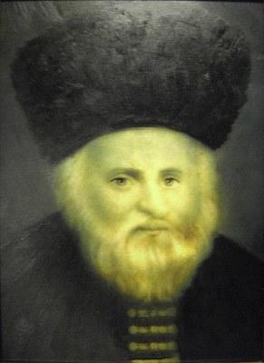 Unbekannter Künstler, Porträt des Gaon von Wilna (1720-1797), Ölgemälde 1915. Bildquell: Wikimedia: http://commons.wikimedia.org/wiki/File:Vilna_Gaon_authentic_portrait.JPG