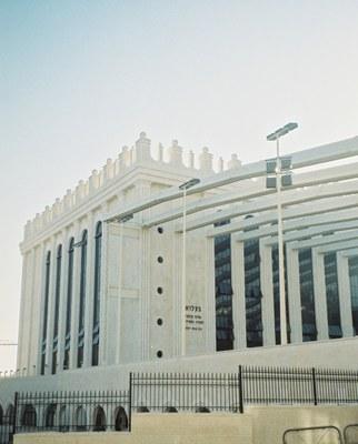 Synagoge der Belzer Chassidism in Jerusalem, Farbphotographie, 2010, Photograph: Matthias Morgenstern.