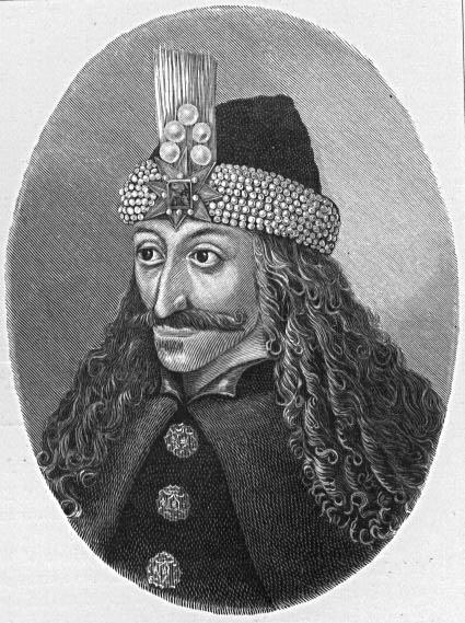 Portrait of Vlad Ţepeş (c. 1431–1476), Wood engraving, 15th century, unknown artist; source: University of Texas Libraries, The University of Texas at Austin, http://lib.utexas.edu/exhibits/portraits/index.php?img=382.