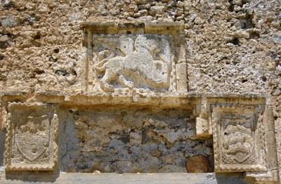 Der Markuslöwe in Frangokastello, Kreta