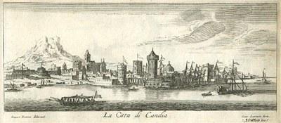 Jan Peeters, Insula di Candia del Mare Mediteranea / La Citta di Candia, ca. 1665 IMG