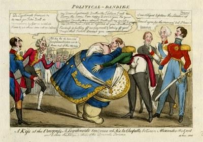 """A Kiss at the Congress"" 1818 IMG"