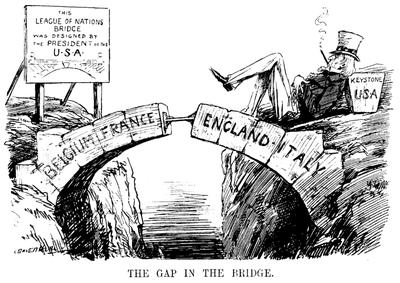 """The Gap in the Bridge"" 1919 IMG"