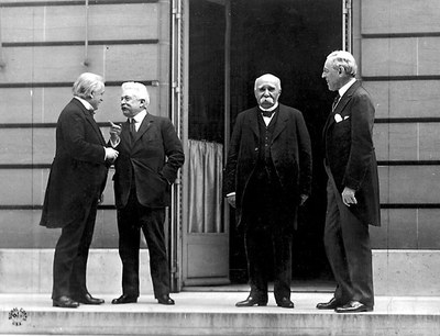 The Peace Conference in Paris 1919 IMG