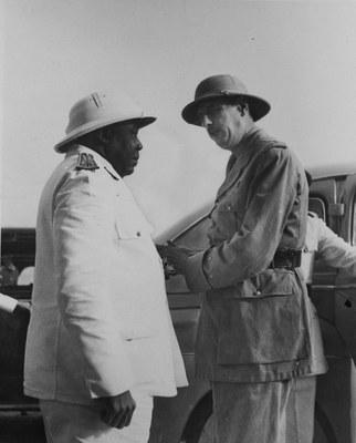 Charles de Gaulle in Tschad
