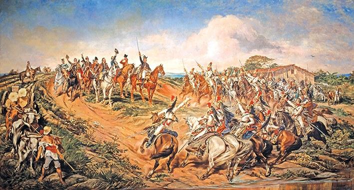 Pedro Américo (1843–1903), Independência ou Morte! (O Grito do Ipiranga), 1888