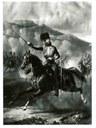 Lord Cardigan an der Spitze der Leichten Brigade, Mezzotint nach Gemälde von Alfred de Prades (1840–1895), undatiert, unbekannter Künstler; Bildquelle: National Army Museum.