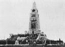 Das Bismarck-Monument in Knivsberg im Jahr 1901