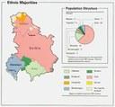 Bevölkerungsgruppen in Serbien 1991
