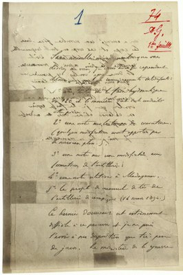 Ferdinand Walsin-Esterházy (1847 - 1923), Bordereau, 1894, Bildquelle: Wikimedia Commons, https://commons.wikimedia.org/wiki/File:The_Bordereau_from_Service_historique_de_la_d%C3%A9fense_(SHD).jpg, angeblich gemeinfrei.
