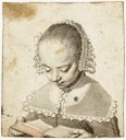 A young girl reading, ca. 1630–1635 IMG