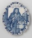 Plaque with a Portrait of Antoni van Leeuwenhoek, ca. 1725–1750 IMG