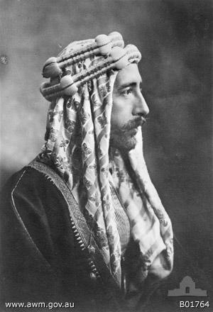 Emir Faisal I. (ca. 1883–1933) IMG
