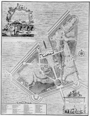 General Plan of the most Noble House & Gardens of the Earl Temple at Stow IMG