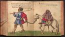 """Ein """"Morisk"""" verlässt Granada mit Frau und Kind"""