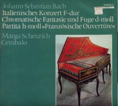 Johann Sebastian Bach (1685–1750), Französische Ouvertüre für Klavier, h-moll, BWV 831, 1735