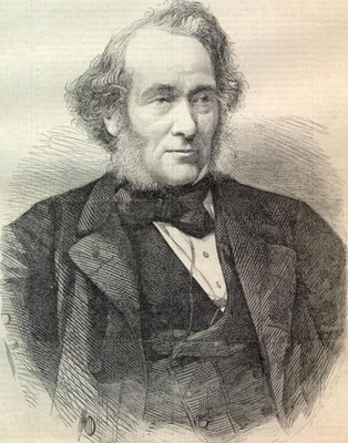 Unknown artist, Richard Cobden (1804–1865). Engraving, date unknown (19th century). Source: The Mises Circle, http://themisescircle.org/blog/2013/03/27/richard-cobden-and-the-triumph-of-ideas/, Creative Commons Attribution 3.0 Unported License