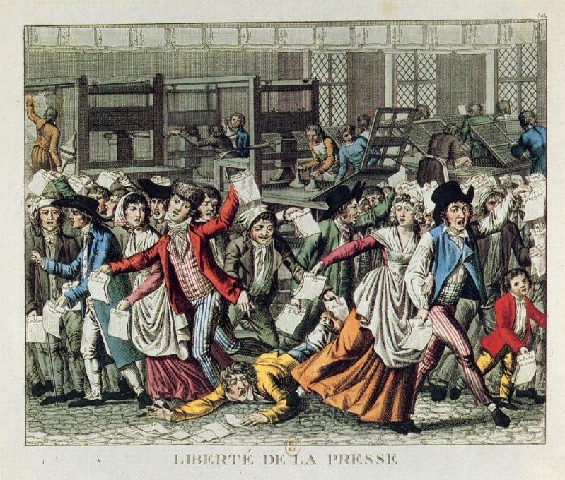 """""""Freiheit der Presse"""", 1796 IMG"""
