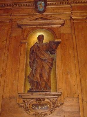Fotografie der Statue von Galenos im Palazzo dell' Archiginnasio, Bologna Bildquelle: http://commons.wikimedia.org/wiki/File:Anatomical_theatre_of_the_Archiginnasio,_Bologna,_Italy_-_the_statue_of_Galenus.JPG