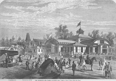 Centennial Exhibition 1876 The Women's Pavilion