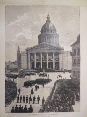 Die Beisetzung Victor Hugos 1885