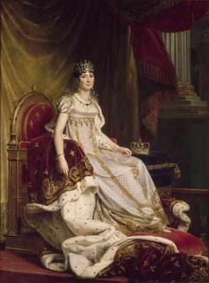 François Gérard (1770–1837), Joséphine en costume de sacre, 1807–1808