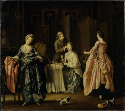 Pehr Hilleström d.Ä. (1732–1816), The Morning Toilet
