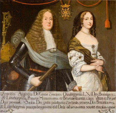 Ernest Augustus, Duke of  Brunswick-Lüneburg (1629–1698) and his Wife Sophia (1630–1714) IMG