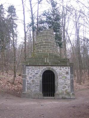 Grab des Vergil im Bergpark Wilhelmshöhe in Kassel IMG