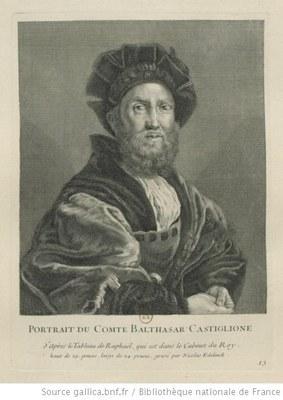 Portrait des Grafen Baldassare Castiglione (1478–1529) IMG