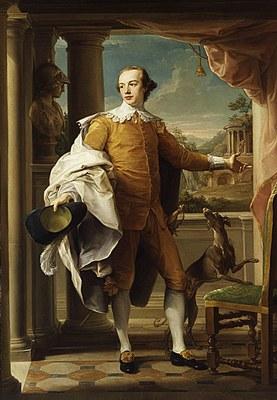 Portrait von Sir Wyndham Knatchbull-Wyndham (1758–1759) IMG
