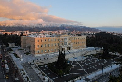 Neues Hellenisches Parlament in Athen IMG