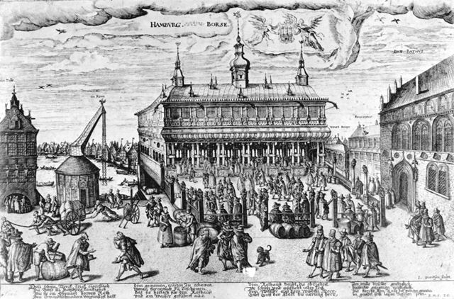 Jan Diricks van Campen, Hamburg Börse, 1606