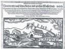 Gisbert Clemens, Klägliche und erbarmliche newe Zeitung/ Von der uberauß schrecklichen und grossen Wasserfluth/ welche sich in deisem 1651 Jahr/ nit allein im Röm. Reich/ sonder auch zu Mörß und am Rhein begeben...: Geschehen im Januarij. Zu singen auff die Weise: Allein auff Gott hoff und vertraw/ etc, Einblattdruck mit Holzschnitt, Köln 1651; Bildquelle: Bayerische Staatsbibliothek, Signatur Einbl. II,22, http://opacplus.bsb-muenchen.de/search?oclcno=164582482.