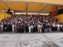 Teilnehmer des Weltkongresses der internationalen Liga homöopathischer Ärzte in Puebla (Mexiko) August 2007, Farbphotographie, 2007, unbekannter Photograph, © Institut für Geschichte der Medizin der Robert Bosch Stiftung Stuttgart.