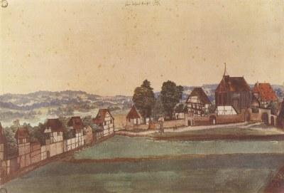 Kirche und Kirchhof von Sankt Johann bei Nürnberg IMG