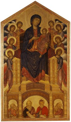 Cimabue, Virgin and Child Enthroned