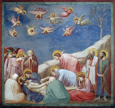 Giotto di Bondone, No. 36 Scenes from the Life of Christ: 20. Lamentation (The Mourning of Christ), 1304–1306