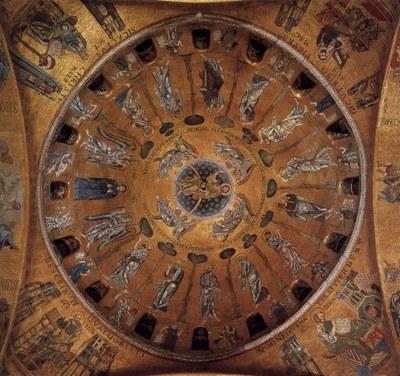 Dome of the Ascension, St Mark's Basilica, Venice